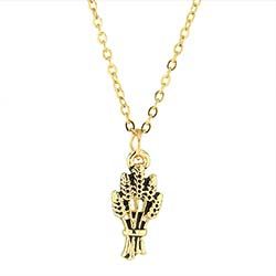 Gold Field is White Missionary Necklace - DBS-MJ57G