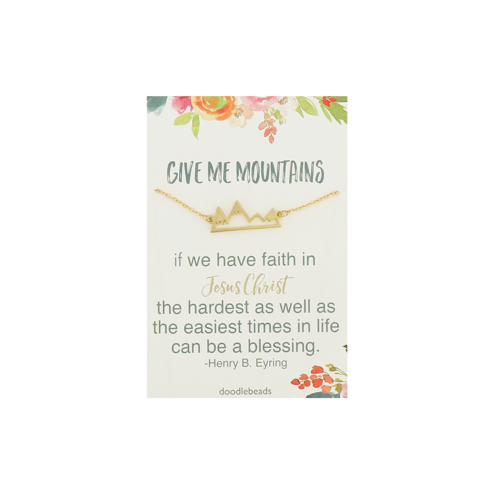 Give me Mountains Necklace - DBS-RO209