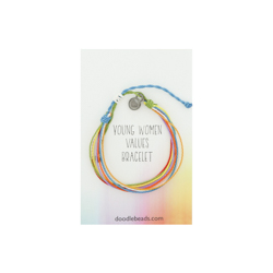Young Women's Values Thread Bracelet