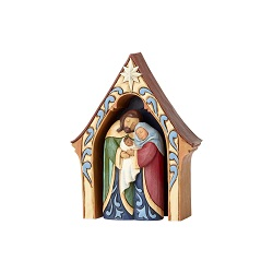 Jim Shore Creche And Holy Family - ENC-4056608