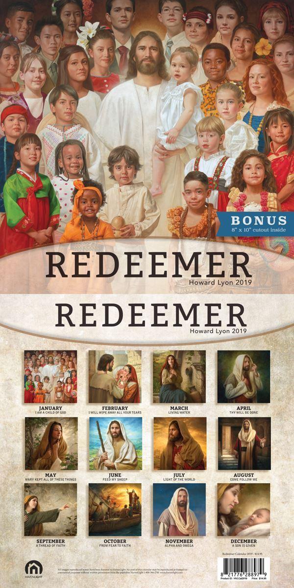 2019 Redeemer Calendar - Howard Lyon - HL-HVLCAL2019