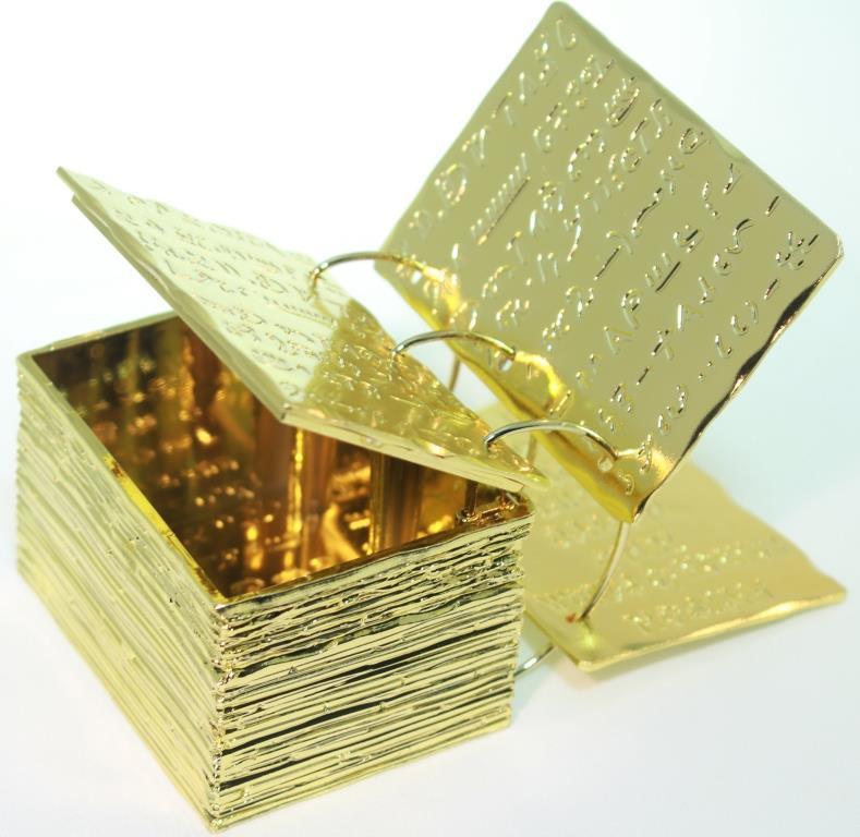 The Gold Plates Figurine - LDD-03023