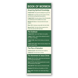 Book of Mormon Scriptures Bookmark book of mormon scriptures, lds bookmark, book of mormon verses, scripture verse bookmark, book of mormon bookmark