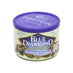 Blue Diamond Almonds - Roasted Salted