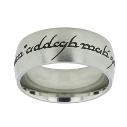 Elvish Choose the Right Ring - Wide Elvish CTR Ring