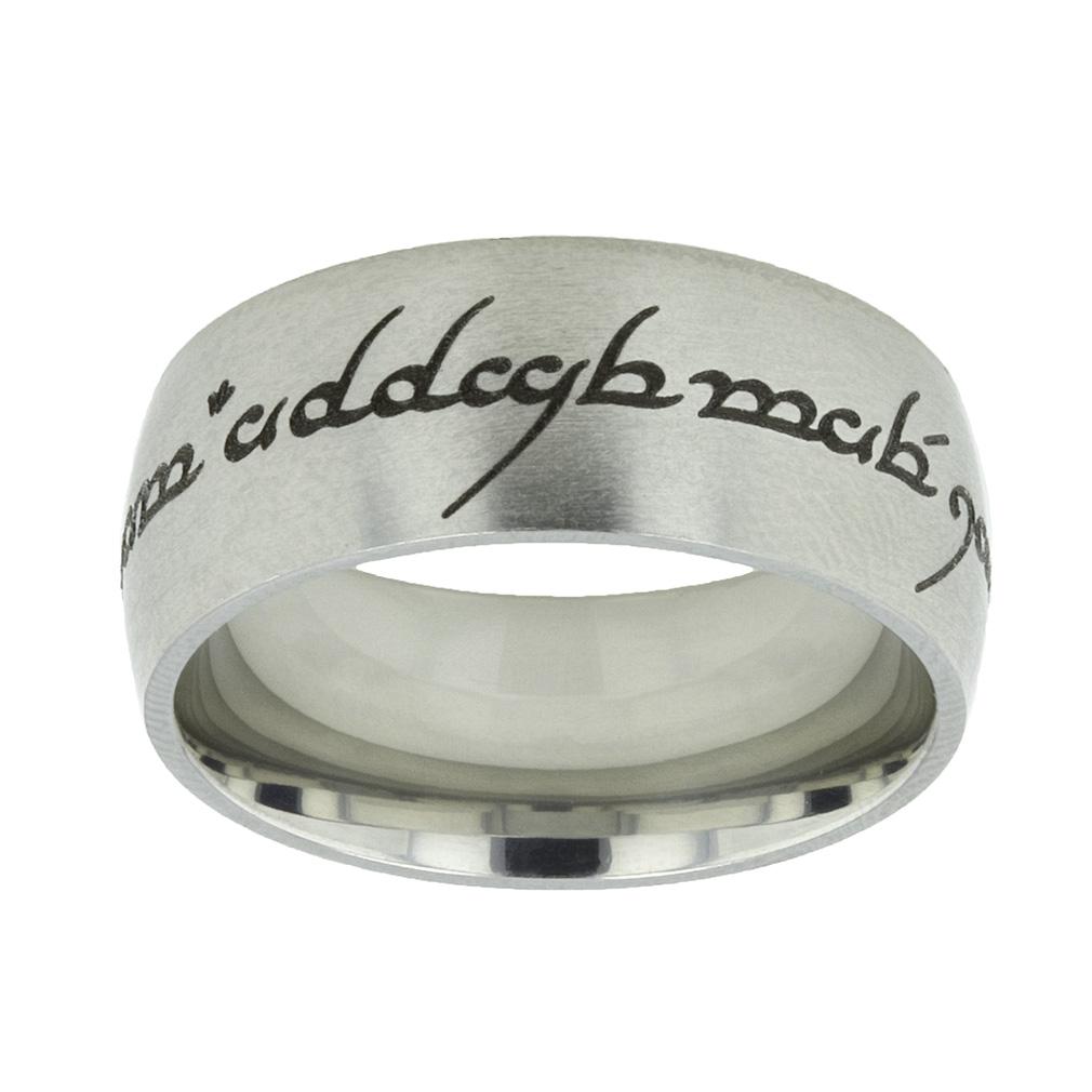 Elvish Choose the Right Ring - Wide - LDP-RNGB15118