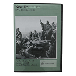 New Testament Video Presentations for Sunday School DVD