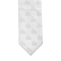 St. George Temple Tie st george, st george temple, temple tie, white tie