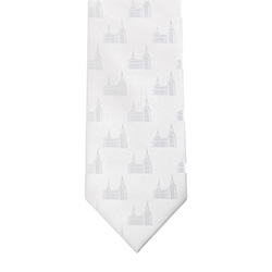 Brigham City Temple Tie brigham city, brigham city temple, temple tie, white tie