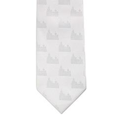 Logan Temple Tie logan, logan temple, temple tie, white tie