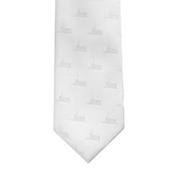 Oquirrh Temple Tie oquirrh, oquirrh temple, temple tie, white tie, utah temple