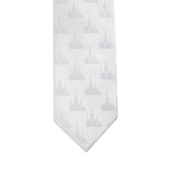 Portland Oregon Temple Tie portland oregon temple, portland oregon, temple tie, white tie,