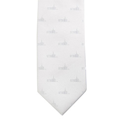 Denver Colorado Temple Tie denver temple, denver colorado, denver colorado temple, temple tie, white tie,