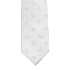 Twin Falls Idaho Temple Tie twin falls idaho temple, twin falls idaho, twin falls idaho temple tie, temple tie, white tie, temple clothing