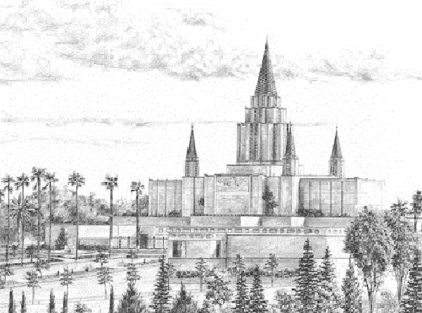 Oakland California Temple Recommend Holder