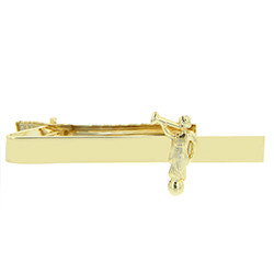 Angel Moroni Tie Clip - Gold