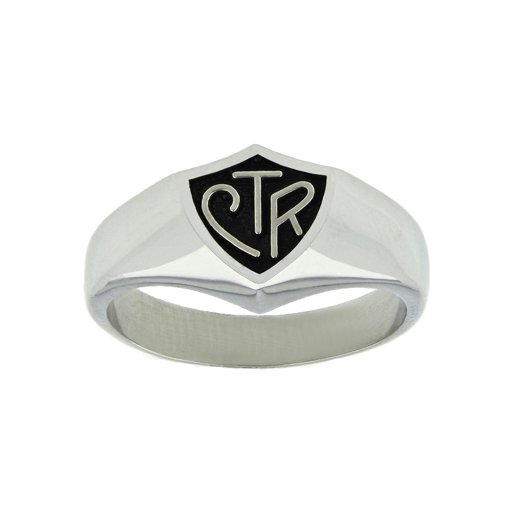 Black Large CTR Ring - RM-C00312