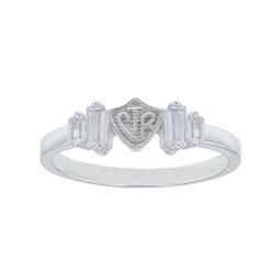 Baguette CTR Ring