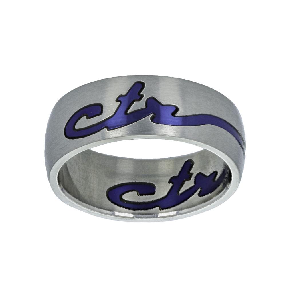 Blue Signature CTR Ring - RM-C12174