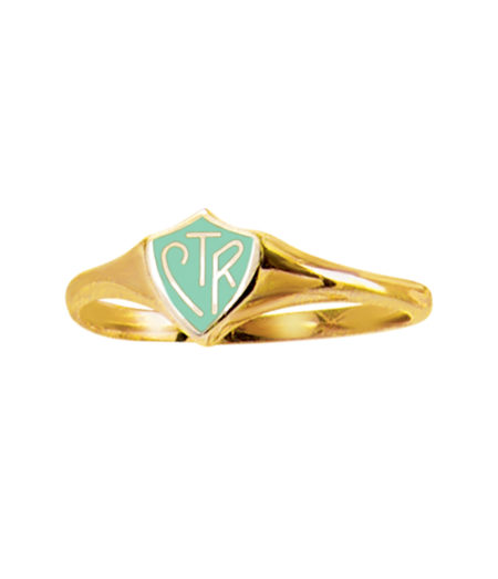 Mint & Gold CTR Ring - Classic - RM-C18979