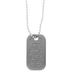 Its Great To Be Eight Dog Tag