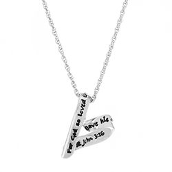 For God So Loved The World Necklace