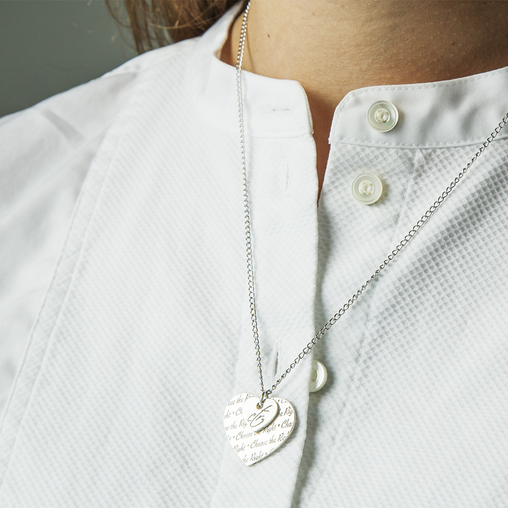 CTR Double Heart Necklace - RM-JNY043
