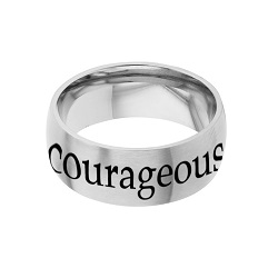 Courageous - His Word Ring