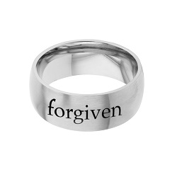 Forgiven - His Word Ring - FP-RNGB126