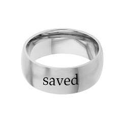 Saved - His Word Ring - FP-RNGB123