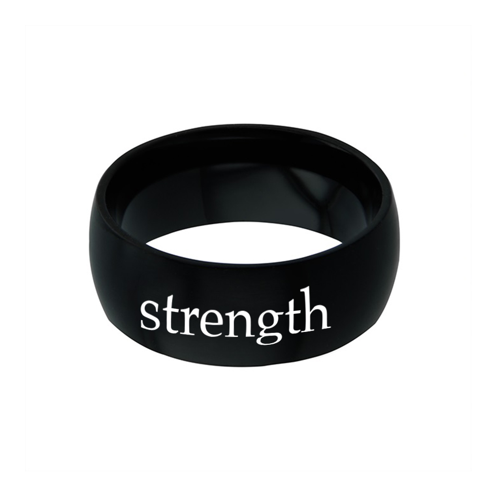 Strength - His Word Ring - FP-RNGB124