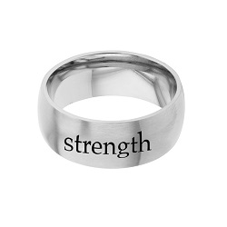 Strength - His Word Ring his word ring, strength ring, Isaiah 40:31 ring,  scripture ring, scripture reference ring