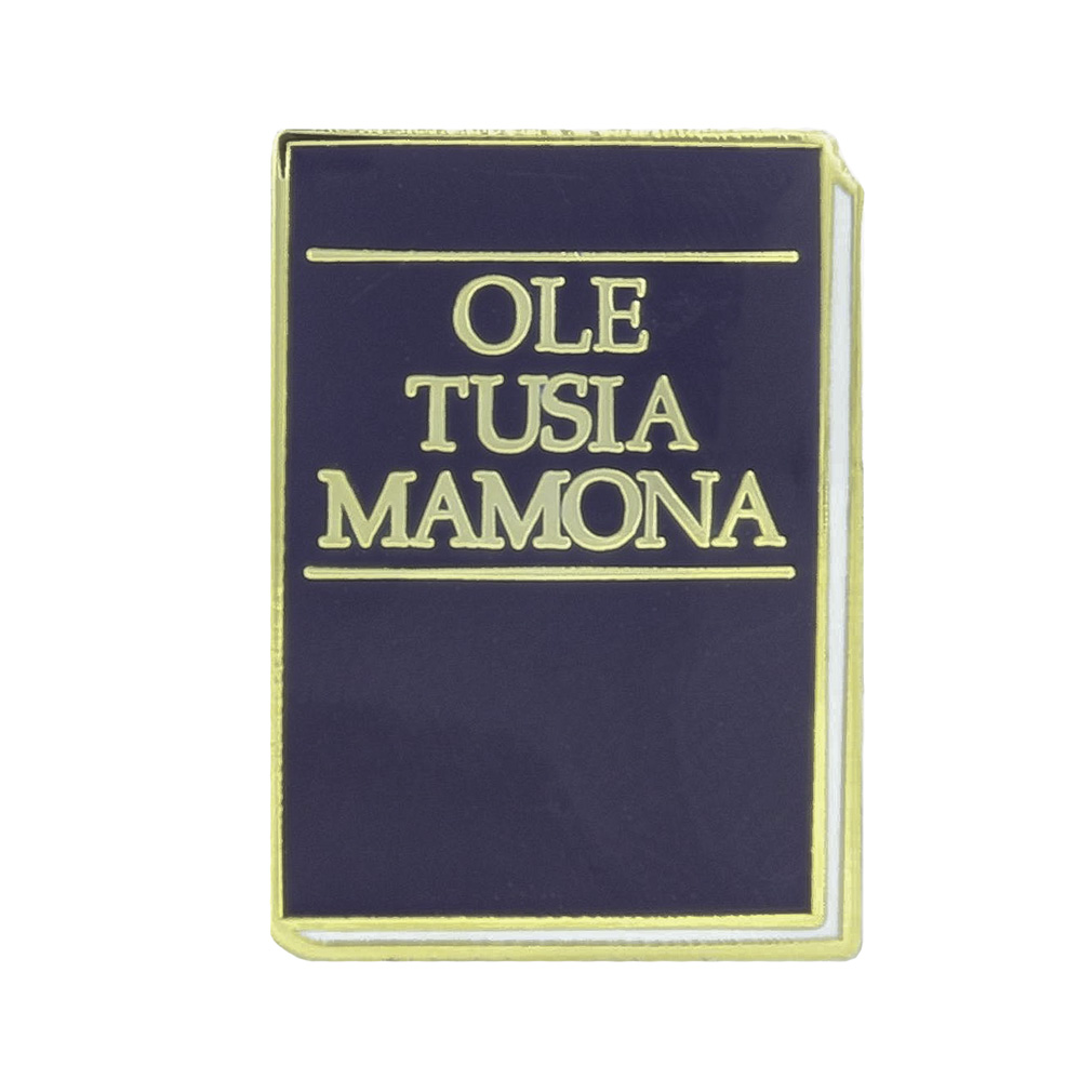 Book of Mormon Pin - Samoan