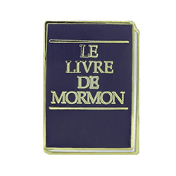 Book of Mormon Pin - French