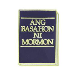 Book of Mormon Pin - Cebuano