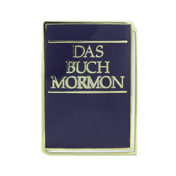 Book of Mormon Pin - German