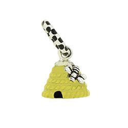Beehive Charm beehive charm bracelet, beehive charm,