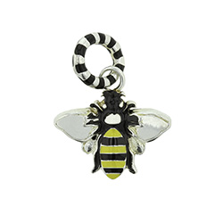 Bumble Bee Charm beehive charm bracelet, beehive charm,