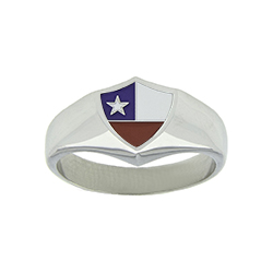 Chile Flag Ring