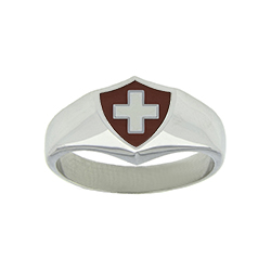 Switzerland Flag Ring