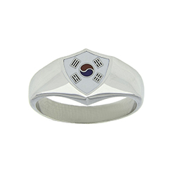 Korea Flag Ring