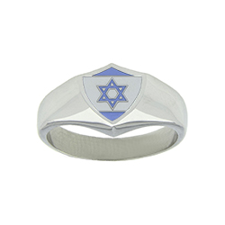 Israel Flag Ring