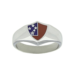 Samoa Flag Ring