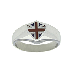 Great Britain Flag Ring
