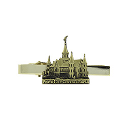 Provo City Center Tie Bar - Gold