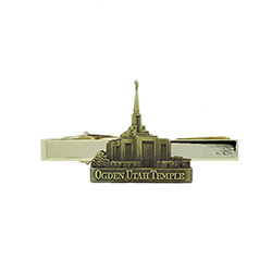Ogden Temple Tie Bar - Gold