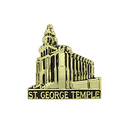 St. George Temple Tie Pin - Gold