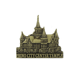 Provo City Center Tie Pin - Gold