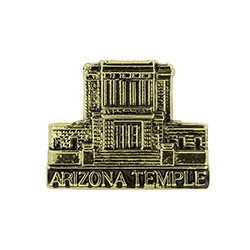 Mesa Arizona Temple Tie Pin - Gold