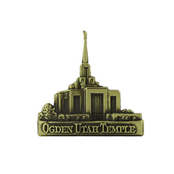 Ogden Temple Tie Pin - Gold
